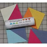 "1-1/4"" Triangles on a Roll"