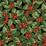 Allover Holly - Black