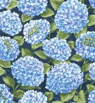 Allover Hydrangea - Dark Blue