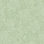 Tonal Paisley - Medium Green